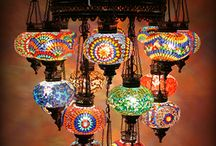 Turkish Mosaic Lamps