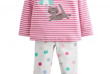 Joules Baby Girls Collection / The Gorgeous Collection has fun prints, all made of the softest of  materials and great practical everyday pieces.