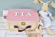 Personalised Girls Memory Box