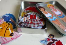 Paper Doll Birthday Party