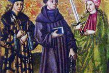 Sw.Leonard, Sw.Sebastian, Sw.Katarzyna Aleksandryjska