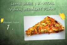 Zdravé jedlá / Súťažné recepty -  zdravé jedlá: http://k-vital.sk/sutaz-zdrave-jedla/