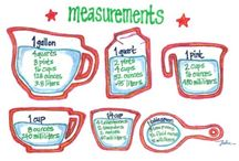 baking measurements / by Chloe+Isabel