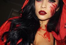 halloween little red riding hood