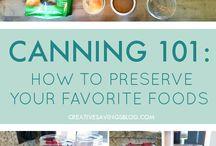 Recipe - Can, Preserve, Bottle, Freeze, etc