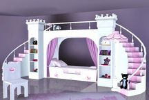 Sims 3 Little princess bed