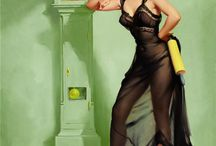 The Pinnacle / My little collection of Gil Elvgren's works / by Tonya