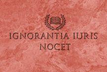 Paremie prawnicze / Fundamentalne zasady prawne