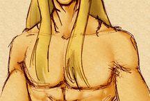 Original characters / Drawings of my original characters: RPG, comics, romance etc.