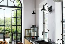 Black Countertop Kitchen