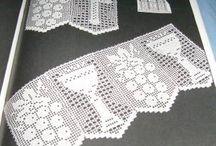 crochet / mantel