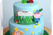Ben and Holly cakes,cupcakes and cookies