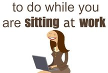 Excerise and stay healthy office work