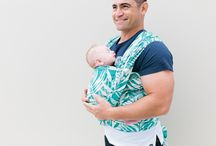 Palmera Wrap / Collaboration with Ankalia Baby Carriers. Honoured and extremely proud to bring the babywearing community a lush, tropical print design in both' Ankalia signature woven wrap style and Chekoh's own stretch bamboo wrap carrier.