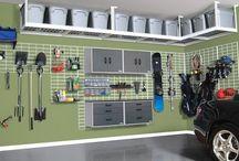Uspořádání garáže