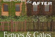 Sims 2 - Build - Fences