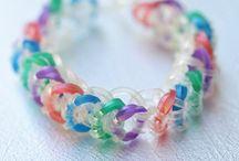 Rainbow Loom / Diverse voorbeelden/filmpjes van armbanden etc