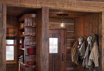 tiny cabin interiors rustic