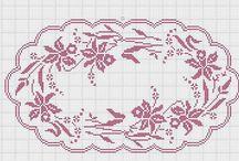Crochet Tapetes Ovalados
