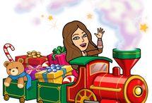 Frohe Weihnachten bitmoji
