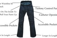 ALTER UR EGO JEANS / Adaptable clothing for men and women in wheelchairs.