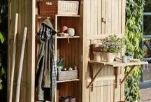 Garden Tool Cabinets & Potting Benches