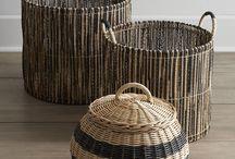 * Woven Basket
