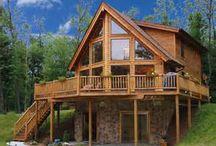 Casa campestre en madera