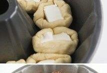 Bolos  massa de pão