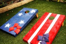 4th of July Celebration / Ready to get your red, white and blue on to celebrate Independence Day? Whether you are a potluck picnic or gourmet BBQ type, here is some Americana-inspired idea love!