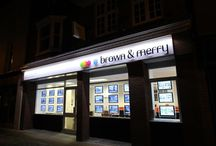 Brown and Merry Estate Agents / All the Brown and Merry branches listed.