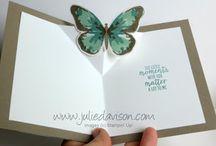 Stampin up watercolor wings