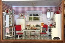 1950's dollhouses