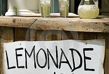 Lemonaid honey stands / by Kim Ediger