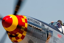 Warbirds and Vintage Aircraft / Military aircraft and vintage airplanes from years gone by.