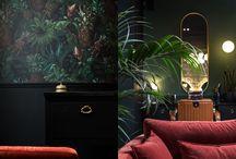 Maison One Love - Nice / Maison One Love - Nice - Barber shop - Hair Salon - Coiffeur - Coiffure - Barbe - Baldini Architecture - Salon - Décoration - Laiton - Vert - Art déco - Année 20 - Gatsby