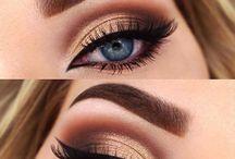blue eyes make-up