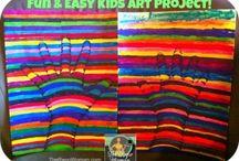 Kids Art / by Anjuli Crocker