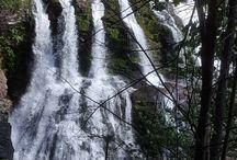 Waterfall-  Aqua