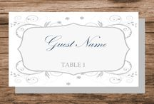Printable Place Card