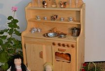 Wooden Play Kitchens / wooden play kitchens / by Christine Berry Parlin