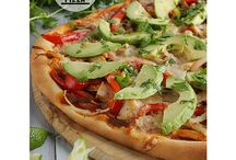 """PIZZA AND PASTA / Two of the best """"food groups"""" to come out of the mediterranean – pizza and pasta! These pizza and pasta recipes have been inspired by cuisines from across the globe."""