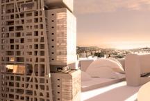 Tour H99 / Marseille / Objet : Une tour de logements Maître d'Ouvrage : SAS Suède Marseille Constructa Surface : 18 000 m² SHON Livraison : 2014 Phase : APD Coût : 42,6 M€ Hauteur : 99,9 mètres Equipe : BET Fluides : Garcia Ingenierie BET structure : SIDF Entreprise : Vinci