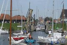 Bootje varen in Workum