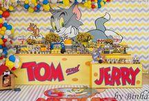 FESTA TOM E JERRY