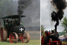 Steampowered tractors