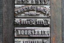 Letterpress Typesetting