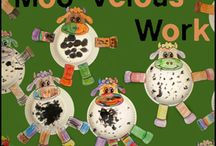Cow Crafts and Learning Activities