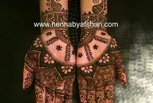 henna - esküvői