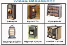 μέσα θέρμανσης